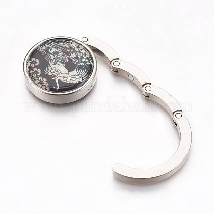 亜鉛合金バッグハンガー財布フックBAGH-WH0001-A01-1