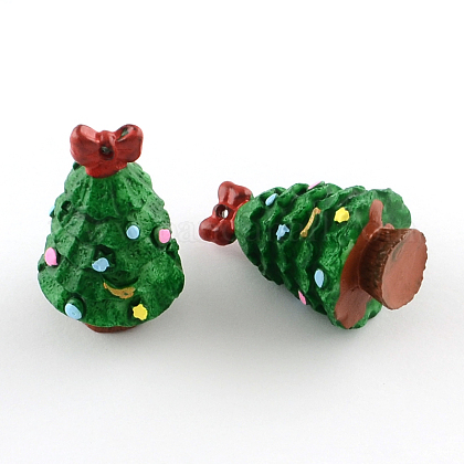 Navidad de resina de árboles colgantesX-RESI-R136-04-1