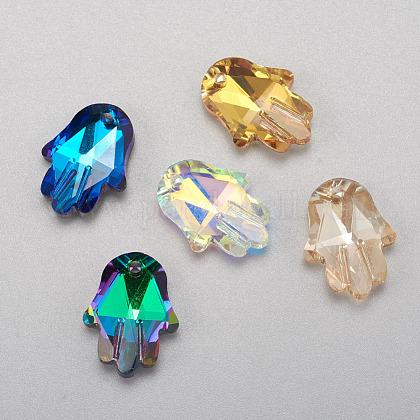 Glass PendantsRGLA-F066-D01-1