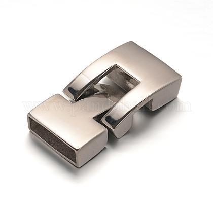 304のステンレス製スナップロックの留め金STAS-I037-04-1