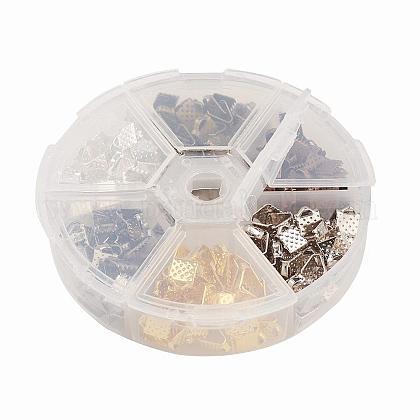 アイアン製カシメリボン止めエンドパーツIFIN-JP0007-03-1