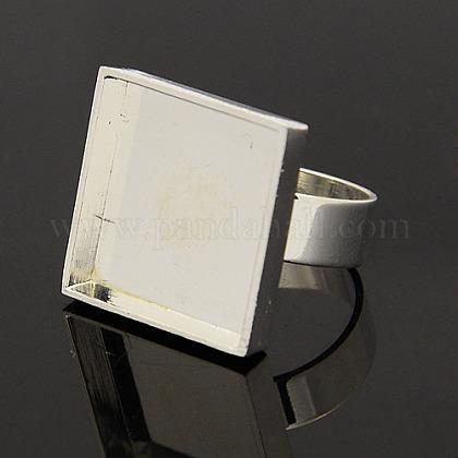 Brass Ring Setting ComponentsKK-M015-01S-1