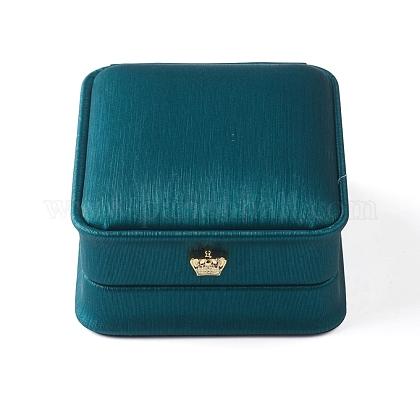 Caja de almacenamiento colgante de cuero de puOBOX-D007-09-1