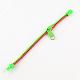 Plastic Zipper BraceletsBJEW-A060-M3-4