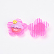 Flower Nylon Magic Tape Hair ClipsOHAR-S193-53-4