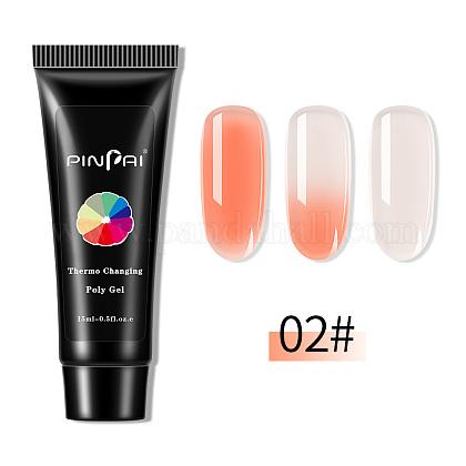Быстрый наращивание ногтей уф-гель (цвет будет меняться в зависимости от температуры)MRMJ-Q034-035B-1