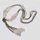 Glass Bead Lariat NecklacesX-NJEW-O059-04K-1