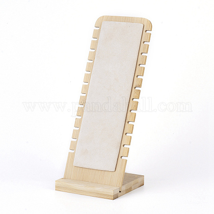Bamboo Necklace Display StandNDIS-E022-04-1