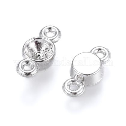 Conector de diamante de imitación de plástico ccbCCB-K003-53P-1