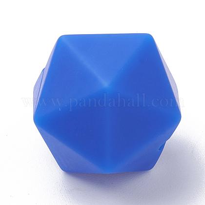Abalorios de silicona ambiental de grado alimenticioSIL-T048-14mm-34-1