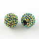 AB-Color Resin Rhinestone Beads RESI-S315-28x30-04-1