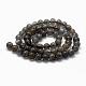Natural Labradorite Beads StrandsG-K285-03-8mm-2