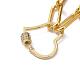 Iron Paperclip Chain NecklacesNJEW-JN02666-02-3