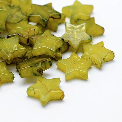 Perles acryliques d'effilageMACR-K331-31C-1