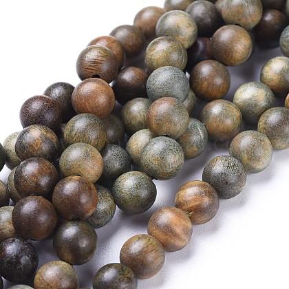 Granos de sándalo natural hebrasWOOD-F008-02-A-1