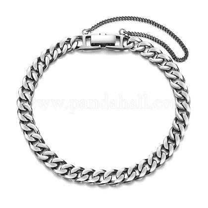 SHEGRACE® Adorable 925 Sterling Silver Chain BraceletsJB375A-1