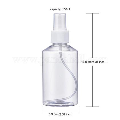 150mlの詰め替え可能なペットプラスチックスプレーボトルTOOL-Q024-02D-01-1