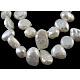 Hebras de perlas de agua dulce cultivadas naturalesPSB001Y-1-1