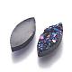 Perlas de resina de piedras preciosas druzy imitaciónRESI-L026-E-3