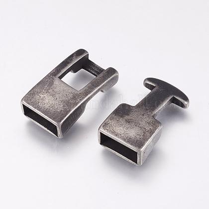 316のステンレス製スナップロックの留め金STAS-F144-028AS-1