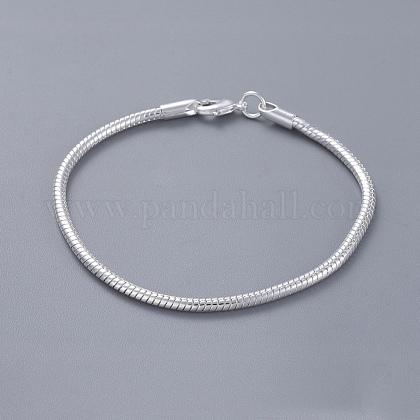 Pulseras de cadena de la serpiente de bronce unisexBJEW-BB12548-1