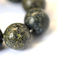 Piedra natural serpenteante / encaje verde cuentas redondas cuentasX-G-E334-6mm-14-4