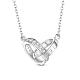 SHEGRACE® 925 Sterling Silver Pendant NecklacesJN633B-1