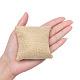Kraft Hemp Pillow Holder for Jewelry Bracelet & Watch DisplaysBDIS-WH0002-01-3