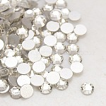 Crystal Nail Art Flat Back Rhinestone, Grade A, Back Plated, Faceted, Half Round, 2.7~2.8mm