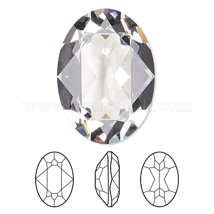 Cabujones de Diamante de imitación cristal austriacoX-4120-8x6-001(U)-1