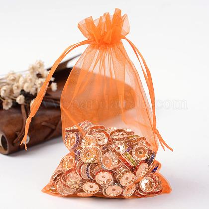 Organza Gift Bags with DrawstringOP-R016-10x15cm-14-1