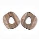 Colgantes de resina y madera de nogalRESI-S358-51-2