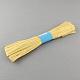Cable de cuerda de papel de rafia para diyDIY-S003-06-2