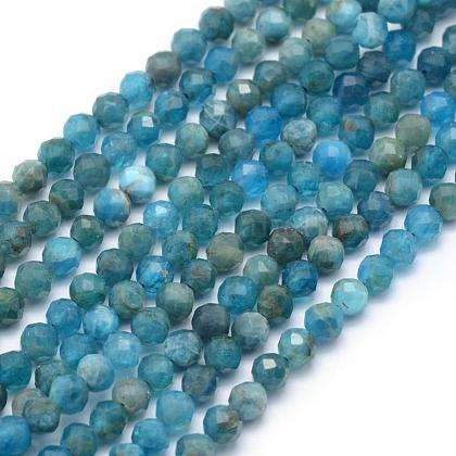 Natural Apatite Beads Strands G-E411-36-4mm-1