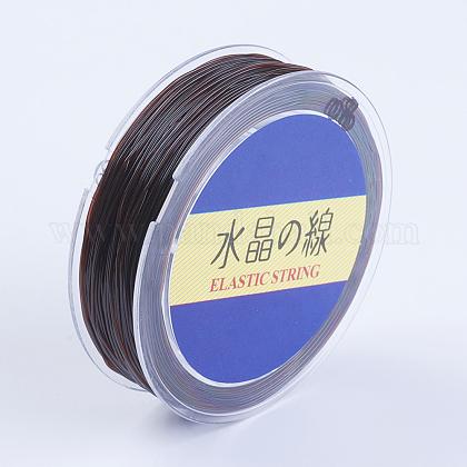 Japanese Round Elastic Crystal StringEW-G007-01-0.6mm-1