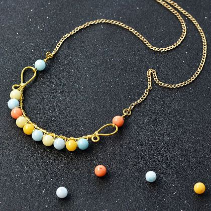 DIY Necklace KitsDIY-JP0003-34-1