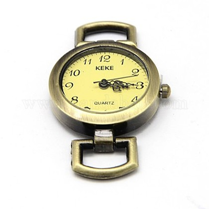 Componentes del reloj la cabeza la cara del reloj reloj de la aleaciónX-WACH-F001-04AB-1