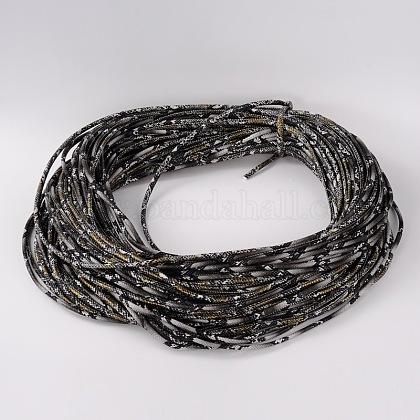 Cordón de cuero de la PULC-D006-4mm-11-1