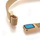 Stainless Iron Mesh Chain Bracelet MakingMAK-E667-01G-3