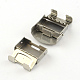 Smooth Surface 201 Stainless Steel Watch Band Clasps STAS-R063-83-4