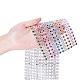 16 rangée en plastique diamant maille rouleau rouleau strass décoration de mariage de rubanOCOR-WH0031-B01-4