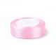 Breast Cancer Pink Awareness Ribbon Making Materials Light Pink Satin Ribbon Wedding Sewing DIYX-RC25mmY004-2