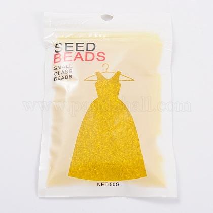 Fgb®11/0透明ガラスシードビーズX-SEED-Q006-F05-1