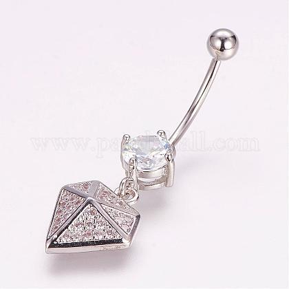 Piercing JewelryZIRC-J017-16P-1