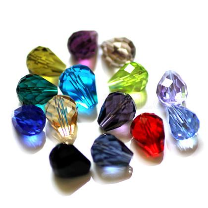 Abalorios de cristal austriaco de imitaciónSWAR-F062-12x10mm-M-1