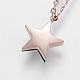 304 Stainless Steel Jewelry SetsSJEW-O088-02RG-3