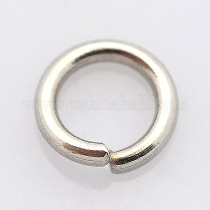 304 acero inoxidable anillos de salto cerrados pero no soldadosSTAS-E067-07-5.5mm-1