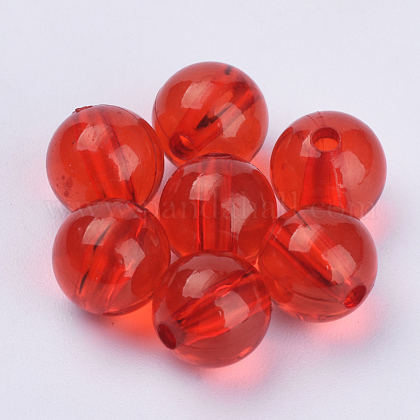 Transparent Acrylic BeadsTACR-Q255-28mm-V12-1