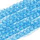 Glass Beads StrandsEGLA-J042-4mm-07-1