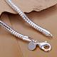 Pulseras de cadena de la serpiente de bronce unisexBJEW-BB12530-4